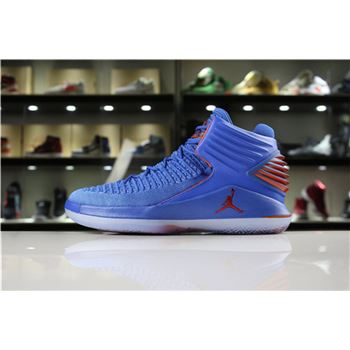 Men's Size Air Jordan 32 XXXII Russell Westbrook Why Not In OKC Colors