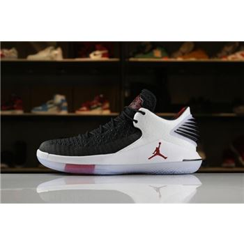 Men's Air Jordan 32 Low PF Free Throw Line Black/University Red-White For Sale