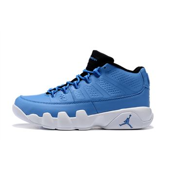 Men's Air Jordan 9 Retro Low Pantone University Blue/White-Black For Sale