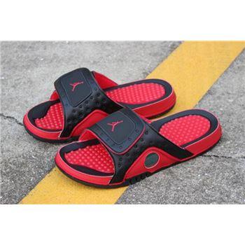 New Air Jordan Hydro 13 XIII Retro Black/True Red 684915-001 Free Shipping