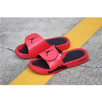 New Air Jordan Hydro 5 Retro University Red/Black 555501-601