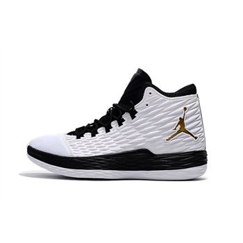 Jordan Melo M13 BHM White/Metallic Gold-Black-Pure Platinum 881562-131