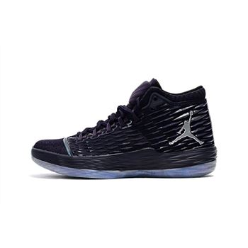 Jordan Melo M13 Chameleon Purple Dynasty/Metallic Silver For Sale