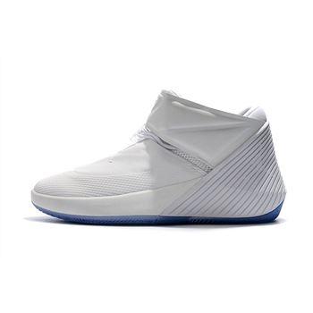 Men's Jordan Why Not Zer0.1 Do You White/Black Basketball Shoes AA2510-100