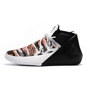 Jordan Why Not Zer0.1 Low Black/White-Orange Basketball Shoes