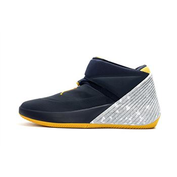 Jordan Why Not Zer0.1 Michigan College Navy/Amarillo-White AA2510-405