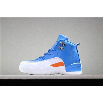 Kid's jordan super.fly 2 all star2 Blue/White-Orange PE