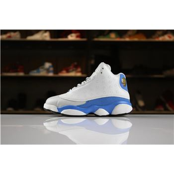 Kid's Air Jordan 13 Italy Blue White/Italy Blue-Wolf Grey-Black For Sale