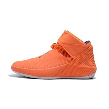 Men's Jordan Why Not Zer0.1 Cotton Shot Orange Pulse/Hyper Royal-Sail AA2510-800