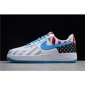 2018 Parra x Nike Air Force 1 07 White Multi Color