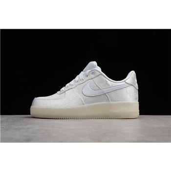 CLOT x Nike Air Force 1 Premium Triple White