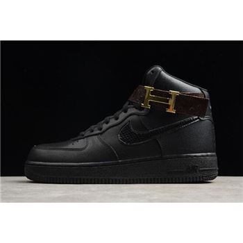 Cheap Nike Air Force 1 Mid 07 Triple Black