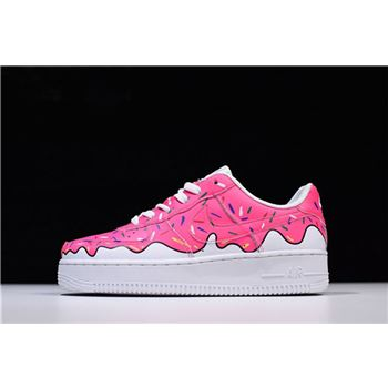 Custom Sneaker BOYZ x Nike Air Force 1 Low Pink White