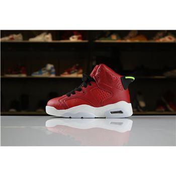 Kid's Air Jordan 6 Retro Christmas Red For Sale