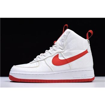 Magic Stick x Nike Air Force 1 High 07 QS White Red
