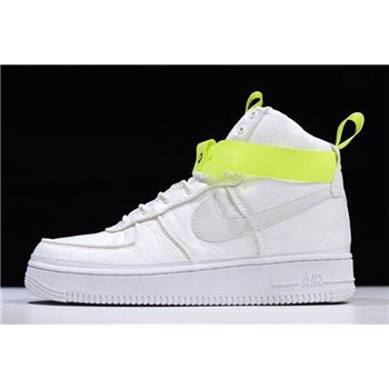 Magic Stick x Nike Air Force 1 High VIP White Volt