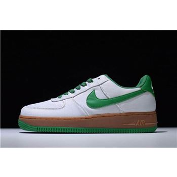 Mens Nike Air Force 1 07 TXT Light Bone Aloe Verde