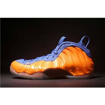 Nike Air Foamposite One Knicks Total Crimson Game Royal Black
