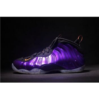 Nike Air Foamposite One Phoenix Suns Electro Purple Total Orange Black