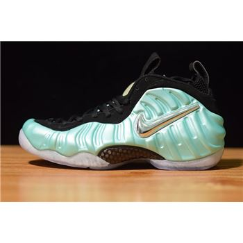 Nike Air Foamposite Pro Island Green Metallic Platinum