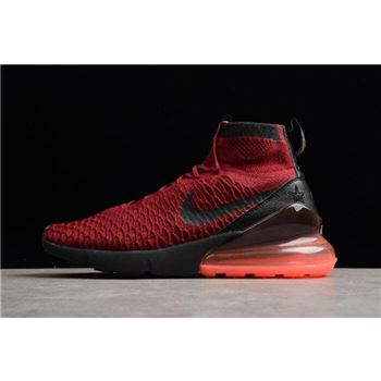 Nike Air Footsacpe Magsta Flyknit 270 Team Red White On Sale