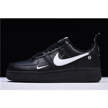 Nike Air Force 1 07 LV8 Utility Black White