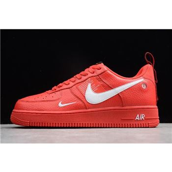Nike Air Force 1 07 LV8 Utility Red White