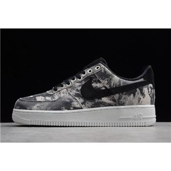 Nike Air Force 1 07 LXX Black Metallic Pewter