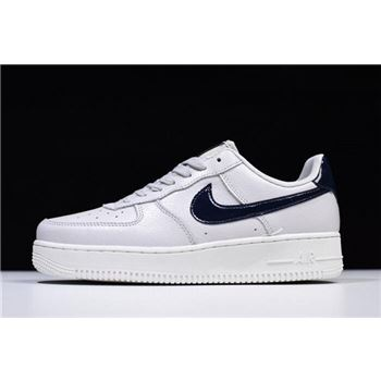 Nike Air Force 1 07 Low Vast Grey Obsidian Summit White