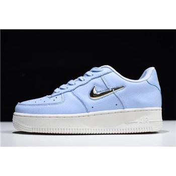 Nike Air Force 1 07 Premium LX Royal Tint Metallic Gold Star White