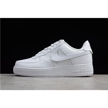 Nike Air Force 1 07 QS Velcro Swoosh Pack White