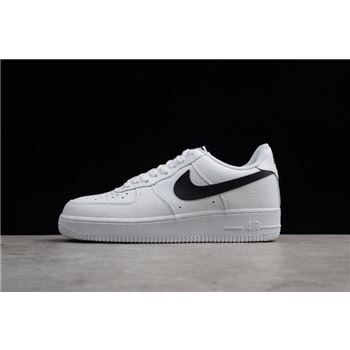 Nike Air Force 1 07 White Black Mens Size For Sale