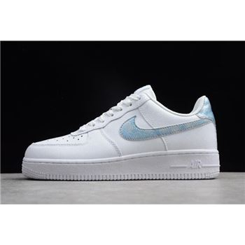 Nike Air Force 1 GS White Royal Tint White