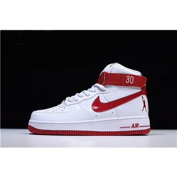 Nike Air Force 1 High Retro CT16 QS Ball Dont Lie White Red Mens and Womens Size