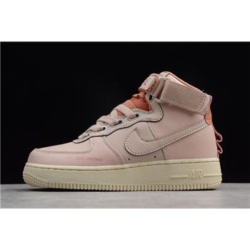 Nike Air Force 1 High Utility Particle Beige Terra Blush LT Cream