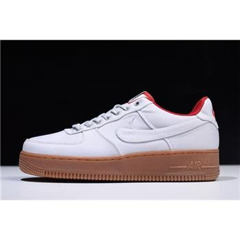 Nike Air Force 1 Low Canvas Gym Red