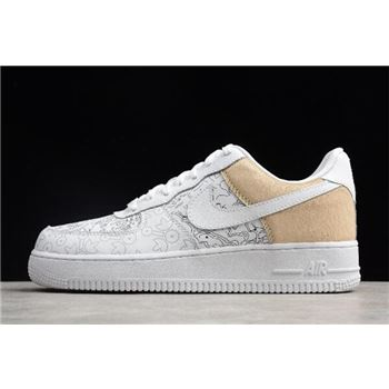 Nike Air Force 1 Low PRM YOTD 18 White Grey
