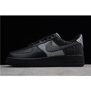 Nike Air Force 1 Low Patchwork Black Black White