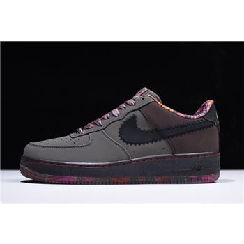 Nike Air Force 1 Low Premium Black History Month Midnight Fog Black