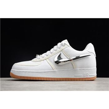 Nike Air Force 1 Low Travis Scott White/White-White AQ4211-100