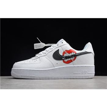 Nike Air Force 1 Low White Black Red