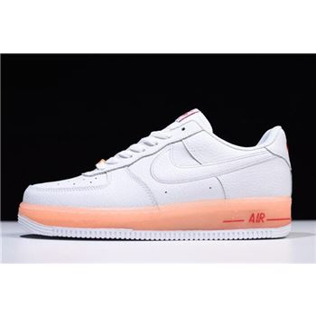 Nike Air Force 1 Upste White/Orange 596728-040