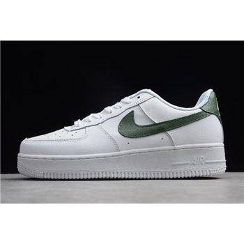 Nike Air Force 1 Upstep White Green