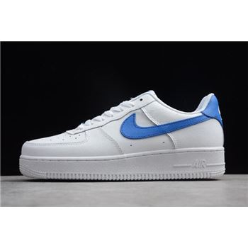 Nike Air Force 1 Upstep White Royal Blue
