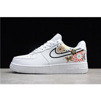 Nike WMNS Air Force 1 07 LNY White Habanero Red