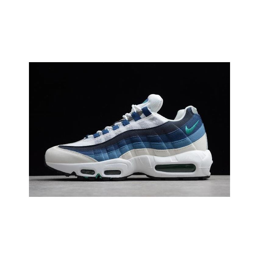 competitive price best sale thoughts on Nike Air Max 95 OG White/Emerald Green-Court Blue-Slate ...
