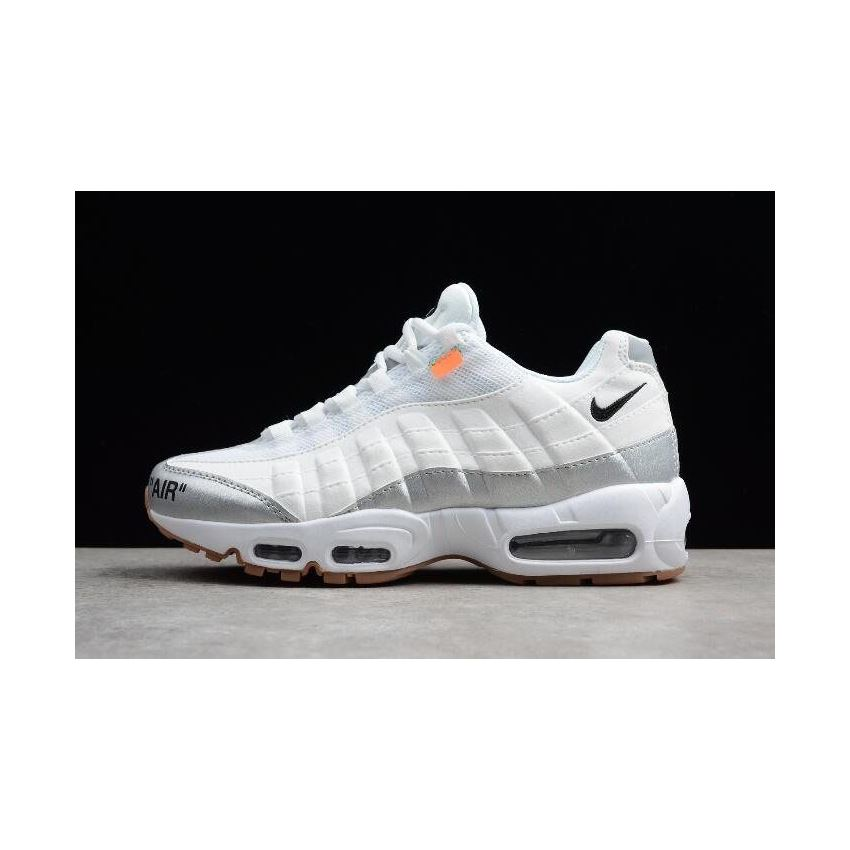 Nike Air Max 95 ID White Grey Men's Size 818592 996 For Sale