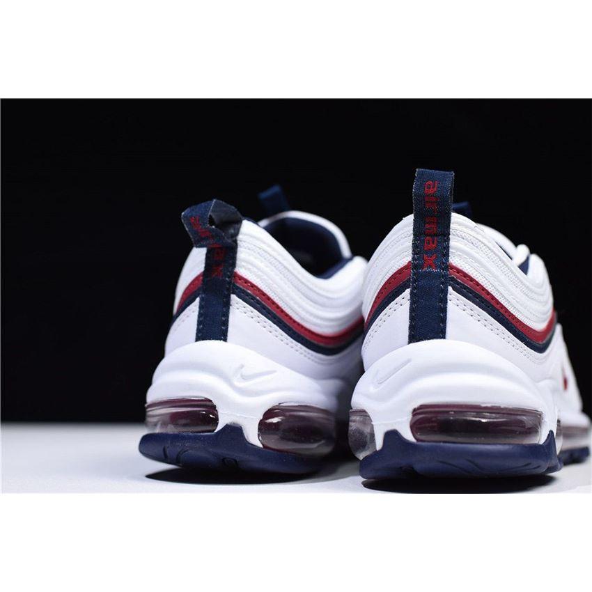 air max 97 white on feet