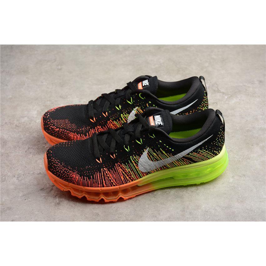 Nike Flyknit Air Max Men's Running Shoe BlackSailAtomic