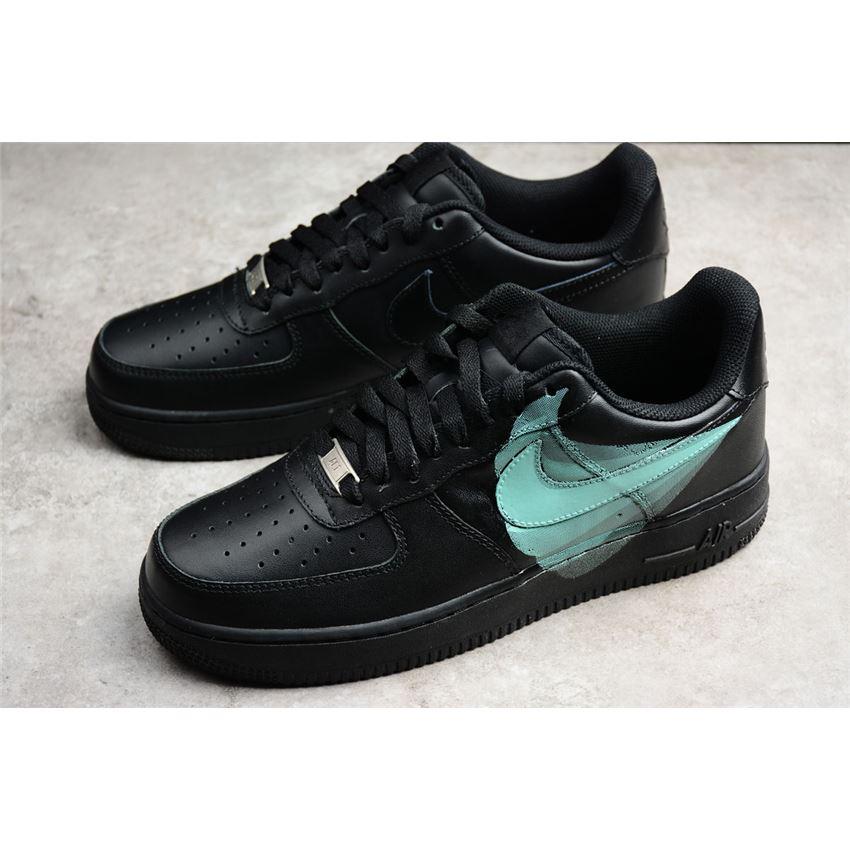 nike air force 1 39 07 noir black green 315122 001 new nike shoes 2019 nike sale